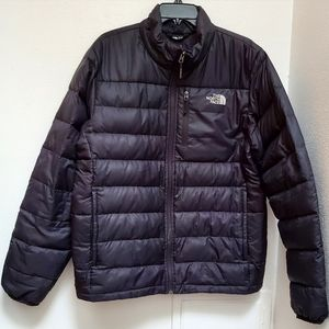 The North Face Black Puffy Down Filled Jacket